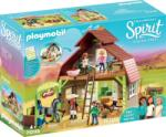 Playmobil Lucky, Pru & Abigail istállója (70118)