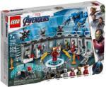 LEGO Super Heroes - Vasember Páncélcsarnoka (76125)