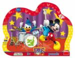 Dino Formatia lui Mickey Mouse - 25 piese (98528) Puzzle