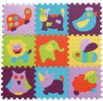 Babygreat - Covoras Puzzle Animalute Vesele 92x92 cm (BBS_5002001)