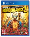 2K Games Borderlands 3 [Super Deluxe Edition] (PS4) Játékprogram