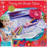 Playgo Trendi festékszórós tetováló készlet csillámmal 7800