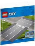 LEGO City - Egyenes útszakasz és T elágazás (60236)