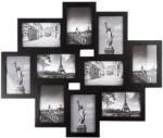 4-Home Sultan fényképkeret 10 fényképre fekete