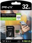 PNY MicroSDHC High Performance 32GB SDU32GHIGPER-1-EF
