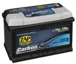 ZAP Carbon EFB 75Ah 720A borna normala