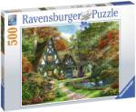 Ravensburger Cabana din padure 500 piese (14792) Puzzle