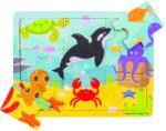 Bigjigs Toys Lumea acvatica (BJ220) Puzzle