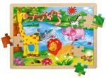 BINO-MERTENS Animale salbatice 48 piese Puzzle