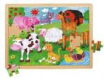 BINO-MERTENS Animale de la ferma - 48 piese Puzzle