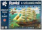 Pagony Rumini pe Regina vântului - 180 piese (105402) Puzzle