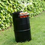 BigBuy BBQ Charcoal Barrell