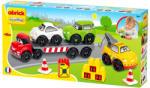 Ecoiffier Abrick - Közúti járművek játékszett (3345)