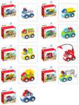 Diakakis Luna Blocks - autó - többféle (658298)
