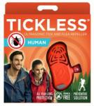 Tickless Human Aparat Repelent Capusele si Purici cu Ultrasunet - Portocaliu - micutul