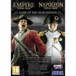 SEGA Empire + Napoleon Total War [Game of the Year Edition] (PC) Játékprogram
