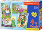 Castorland 02030 (4in1) - Scufita Rosie Puzzle