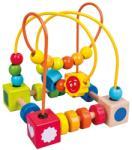 Bino Labirint color cu mărgele Bino
