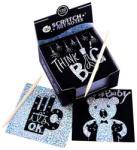 Tooky Toy Képkarc jegyzettömb - glitteres, 130 lapos (JA91395)