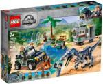 LEGO Jurassic World - Baryonyx bonyodalom: A kincsvadászat (75935)