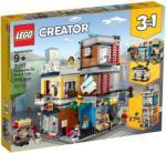 LEGO Creator - Városi kisállat kereskedés és kávézó (31097)