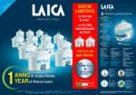 LAICA 10 cartuse filtrante Bi-flux + 2 Magnesium Active (F12K002) Rezerva filtru cana