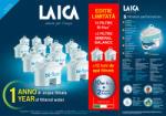 LAICA 10 cartuse filtrante Bi-flux + 2 Mineral Balance (F12K001) Rezerva filtru cana