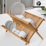 TakeTokio Bambusz Edényszárító