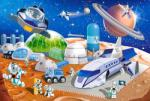 Castorland Maxi Space Station - 40 piese (040230) Puzzle