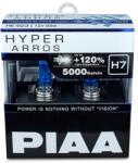 PIAA Hyper Arros 5000K H7 + 120% ragyogó fehér fény, 5000K színhőmérséklet, 2 db (HE-923)