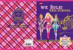 UNIPAP Barbie glitter füzet A5 32 lapos kockás UN1011K