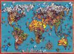 Anatolian Butterfly World Map - 1000 piese (1029) Puzzle