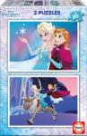 Educa Frozen 2x20 piese (16847) Puzzle