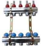 te-sa előszerelt osztó-gyűjtő áramlásmérővel, 5 körös