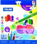 MILAN Ceruza színes Milan maxi háromszögletü 12-es 261