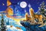 Castorland Howling Wolves - 1000 piese (103317) Puzzle