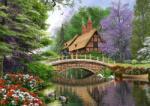 Castorland River Cottage - 1000 piese (102365) Puzzle