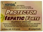 Hofigal Protector Hepatic Forte - 40 comprimate