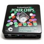Set Poker Texas 100 Jetoane si Carti