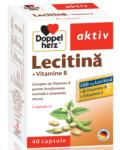 Doppelherz Aktiv Lecitina+Vitamine B+Vitamina E (40 comprimate)
