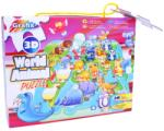 Grafix Lumea animalelor 3D - 38 piese (12-0161) Puzzle