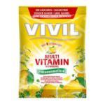 Vivil Bomboane multivitamine cu lamaie, fara zahar, 60 grame, Vivil (FSH1075)
