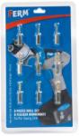 FERM fúrókészlet - 9 darabos (Swing drillhez) | (CDA1064) (CDA1064)