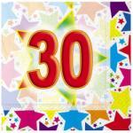 Big Party Servetele 33 X 33 Cm Stardust 30, 20 Buc/set Big Party (bp60285)