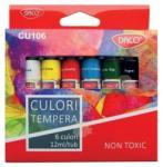 Daco Tempera 6 Culori 12 Ml - Daco (cu106)