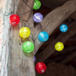 Timeless Tools Ghirlanda cu 10 lampioane colorate, LED (HOP1000465)