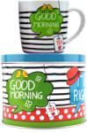 "Sinas Set ceai: Cana + Cutie metalica ""Good morning"" 300ml"