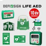 Schiller Medical - Svájc Ipari csomag: DefiSign LIFE félautomata defibrillátor (10) - defibrillatorok - 638 480 Ft