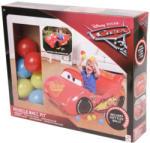 Disney Verdák felfújható autó puha labdával 10 darabos