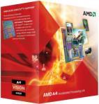 AMD A4-3400 Dual-Core 2.7GHz FM1 Processzor